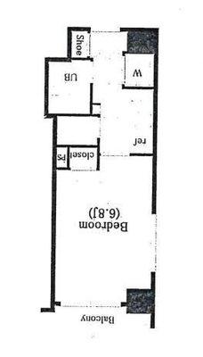 シンシア三軒茶屋太子堂(1132) の間取り