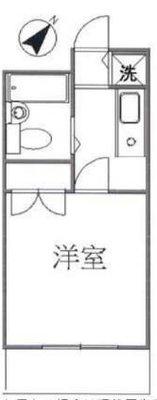 OYO LIFE #4048 和田ビル12 の間取り