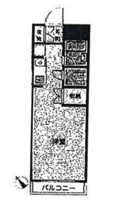 OYO LIFE #1750 エルスタンザ国分寺 の間取り