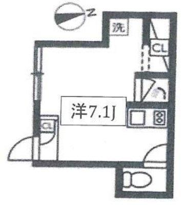 OYO LIFE #1732 PRESI桜新町 の間取り