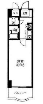 OYO LIFE #2726 ホワイトガーデン東田 の間取り