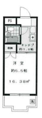OYO LIFE #2840 ハイタウン多摩川No.2 の間取り