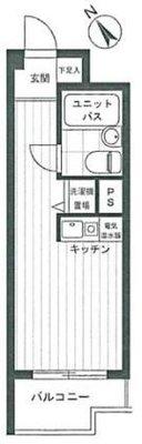 OYO LIFE #2897 ライオンズマンション宮崎台第10 の間取り