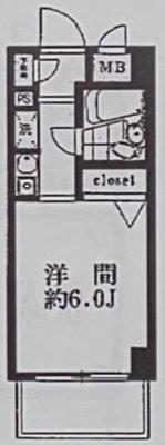 OYO LIFE #3107 マイステージ笹塚 の間取り