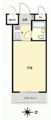 OYO LIFE #3280 中村橋ダイカンプラザ の間取り