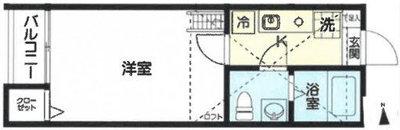 OYO LIFE #3146 Stage北綾瀬 の間取り