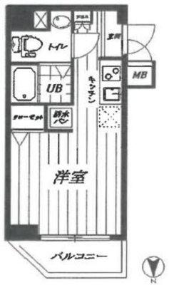 OYO LIFE #2815 フューティバル横浜シティ の間取り