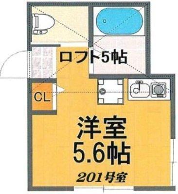 OYO LIFE #3493 ラボーナ西横浜 の間取り
