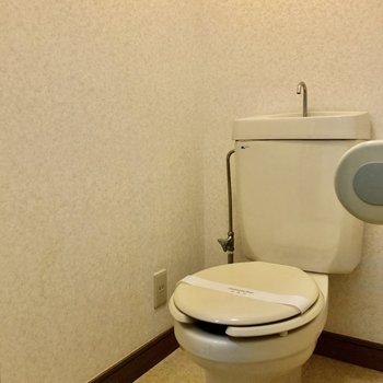 トイレはシンプルなものになってます