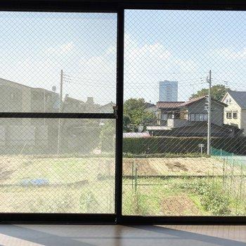 一方、居室の窓