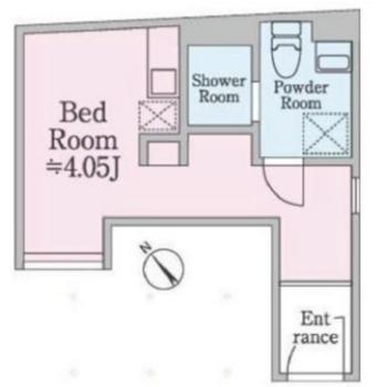 南西向きのお部屋です。