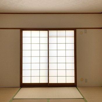 【和8】障子から柔らかい光が入ります。和室ならでは◎ (※写真は同間取り3階のお部屋です)