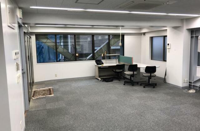 目黒 15坪 オフィスの内観