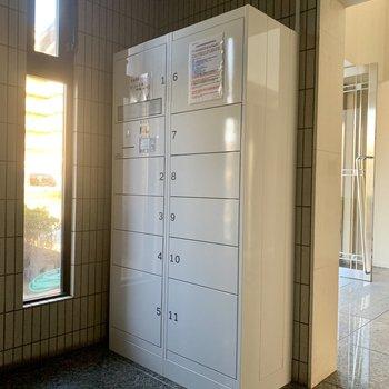 共用部】宅配ボックスは新設されてます、優しいオーナーさん!