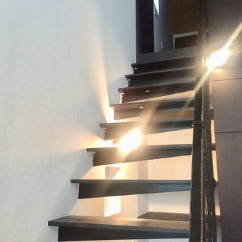 上の階へ行ってみましょう。