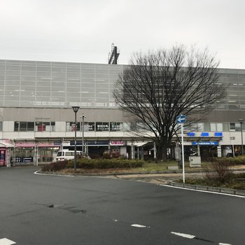 花畑駅にはスーパーもあって便利◯
