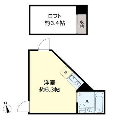 my plan 東高円寺 の間取り
