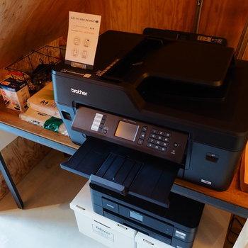 A3も印刷できるプリンターは利用料無料!