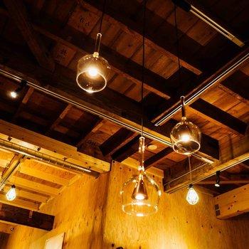こだわりを感じる天井の建築美