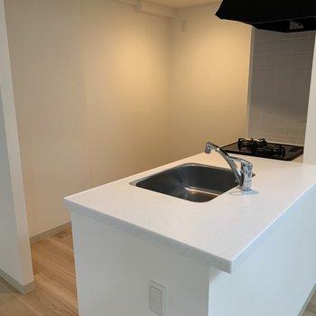 キッチンもご立派!作業スペース豊富ですね