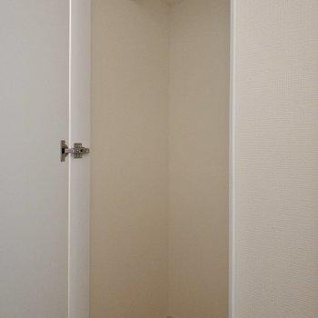 玄関横にクローゼットがあります。