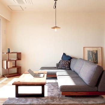 家具イメージ】大きなソファーを置くのが夢でした。。。!