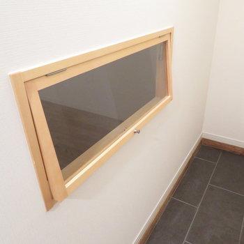 ここに小窓があるじゃないですか