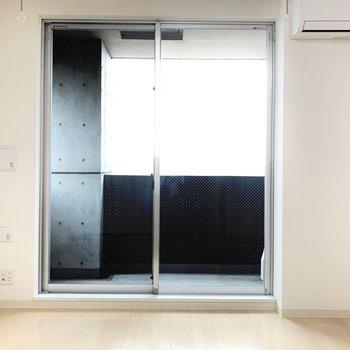 窓が大きくて開放的。