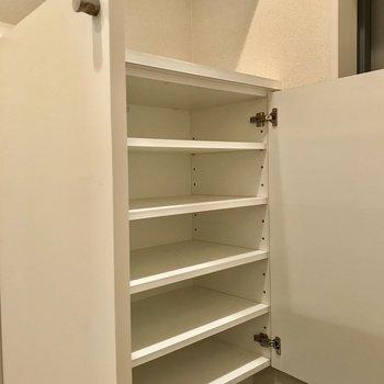 シューズボックスはたくさん!※写真は2階の同間取り別部屋のものです