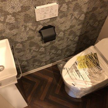 独立の手洗器はとても便利です。