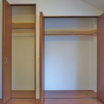 収納はしっかりあるので◎※写真は同タイプの別室です。