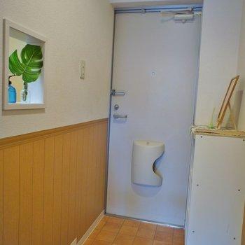 玄関可愛らしい※写真は同タイプの別室です。