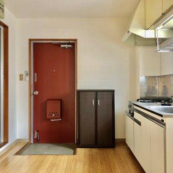キッチンは広めです
