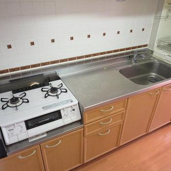 【K】大きなキッチンなので料理も楽ちん