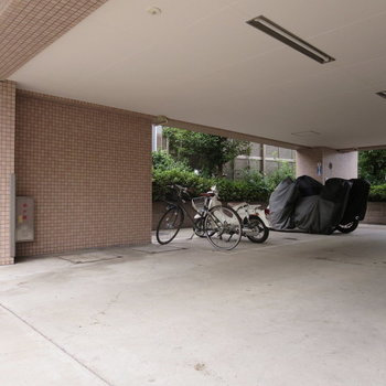駐輪場ありますよ◎