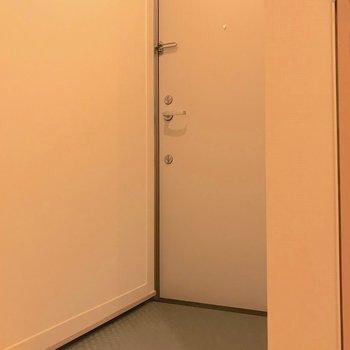 こちらは玄関です。
