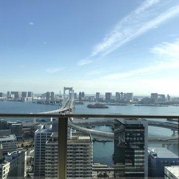 【31階】レインボーブリッジが見渡せます。