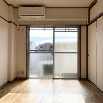 綺麗な内装に生まれ変わったお部屋です。