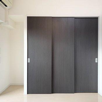 なんと扉の中に隠せてしまいます!