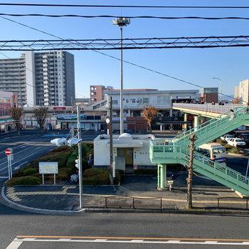 最寄りの若葉駅です