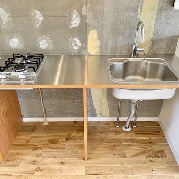 キッチンは調理スペースもしっかり設けられているようですね。
