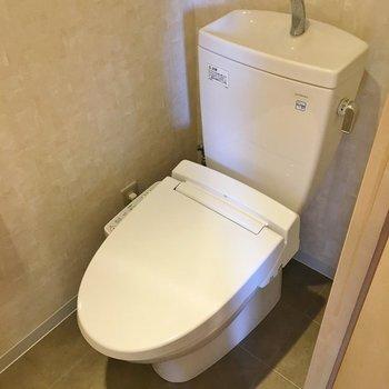 トイレもまだまだ綺麗です☆