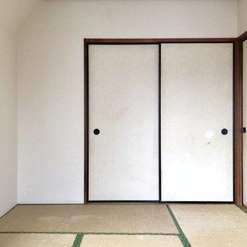 【和室】畳の優しさを感じます