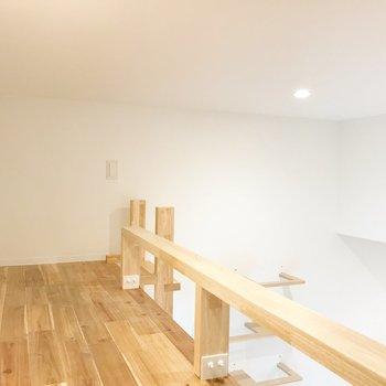 ロフトを見てみましょう。※写真は1階の同間取り別部屋のものです