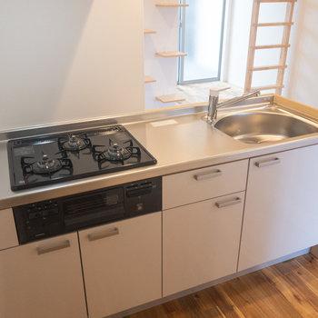 機能面ですぐれたキッチンです
