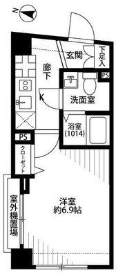 プレール・ドゥーク東京EAST の間取り