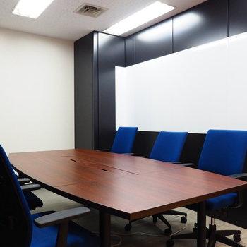 大事な話がある時はこちらの会議室で