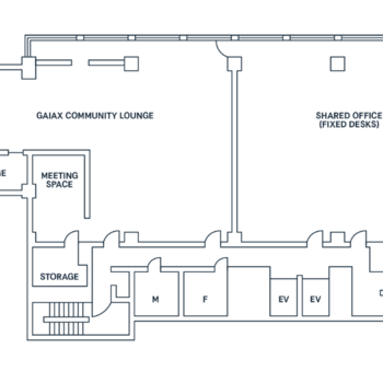 こちら2階の図面です