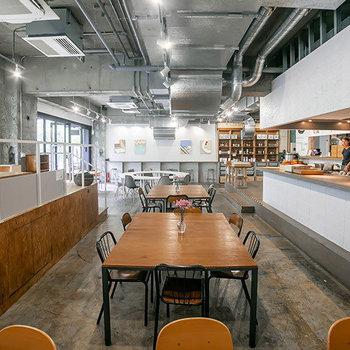 【1F】一般に開かれたカフェスペース