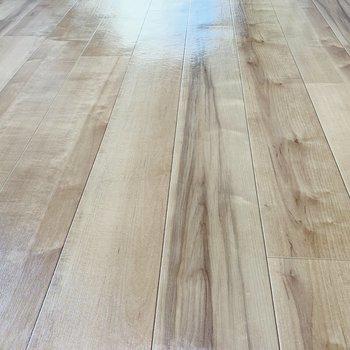 木目調の床